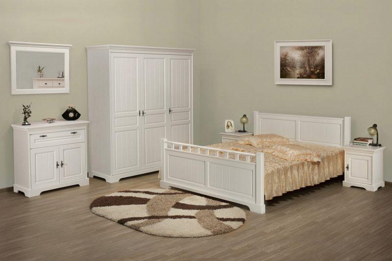 Dormitor Cristina, din lemn masiv