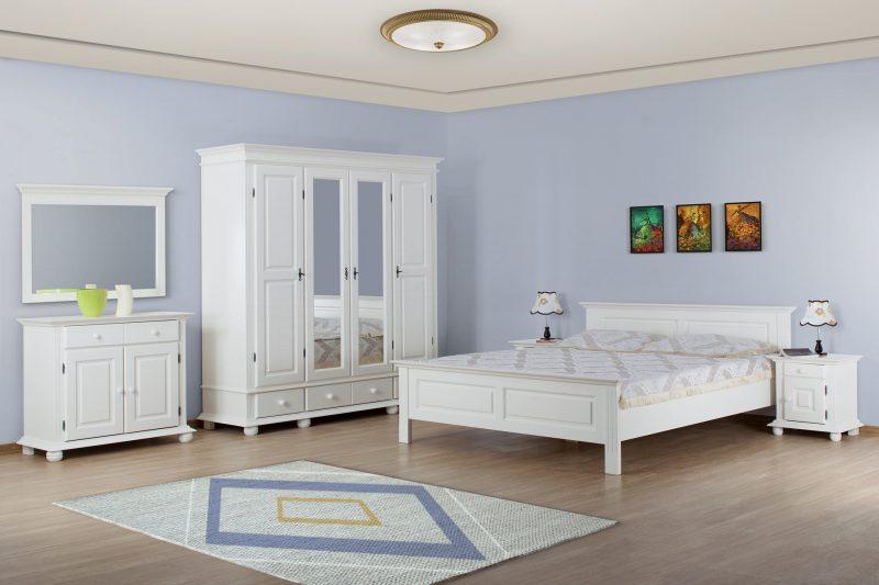Dormitor Sabina, din lemn masiv