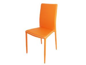 Scaun bucătărie S-118 portocaliu