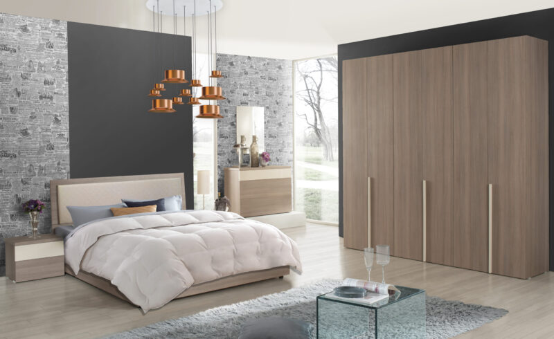 Dormitor Sefura Grigio