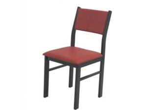 Scaun bucatarie S-25 lemn roșu